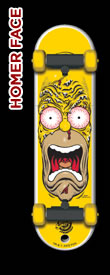 Santa Cruz SkateDrive Homer Face Model